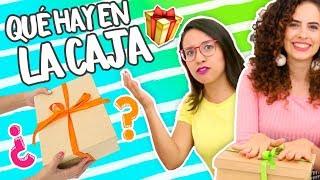 RETO DIY ¡Haz Un REGALO CON LO QUE TIENE LA CAJA! 😱🎁💥  Con Paula Stephânia ✎ Craftingeek