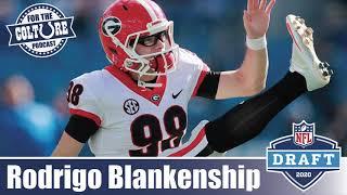 Colts Sign Undrafted FA Kicker Rodrigo Blankenship (Georgia) Following The 2020 NFL Draft