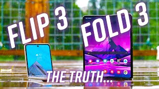 8 things I learned using the Galaxy Z Fold3 and Flip3!