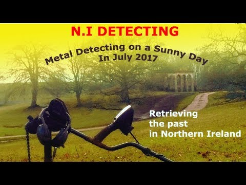 Metal Detecting on a Sunny day in June 2017