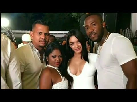 West Indies Cricket Players with Wives | West Indies VS England 2019 Cricket Series