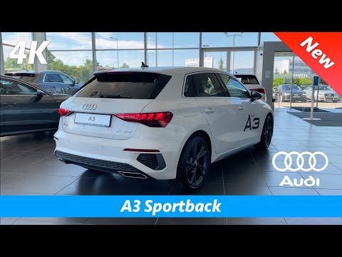 Audi A3 Sportback 2021 (S Line) - First quick look in 4K | Interior - Exterior - LED Headlights