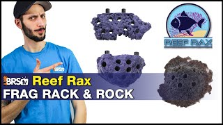 Reef Rax Coral Frag Racks: Display your coral frags inside your reef. No frag tank needed!