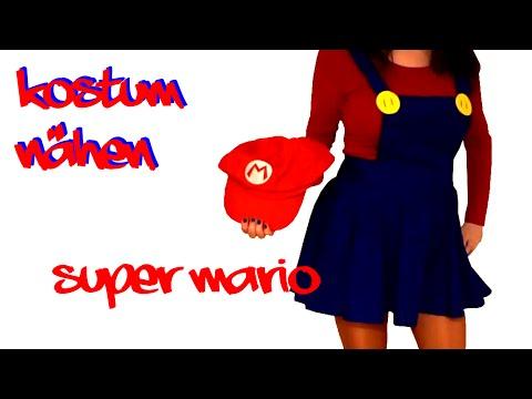 Kostüm nähen -Super Mario Frau-