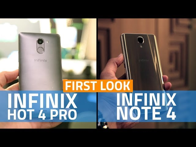 Infinix Note 4, Hot 4 Pro Launched in India: Price