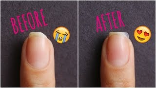 HOW TO: REPAIR A NAIL THAT HAS BROKEN OFF | Banicured