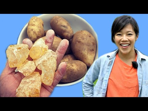 How to Make PINE ROSIN POTATOES | Turpentine Potatoes – Best Spuds Ever? – In The Old Days