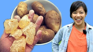 How to Make PINE ROSIN POTATOES | Turpentine Potatoes - Best Spuds Ever? - In The Old Days