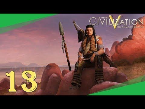 Civilization 5 ➤ #13 ➤ Pád Aztécké Říše [CZ LP]