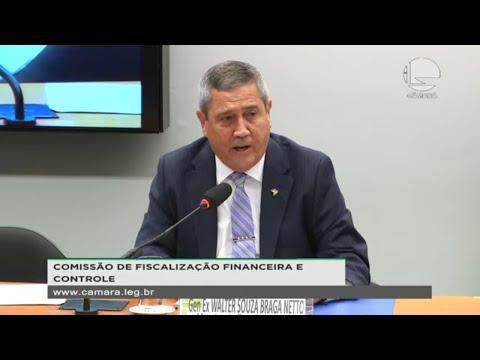 Fiscalização Financeira - Bragas Netto e vagas ociosas em Hospitais das Forças Armadas - 12/05/2021
