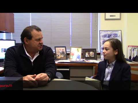 Shayna Interviews Mike Eruzione