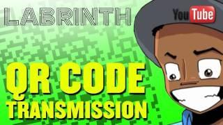 Labrinth: QR Code Transmission.