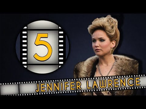 Top FIVE Jennifer Lawrence Roles - Fanatic 5