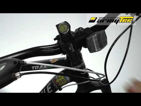 Как установить крепление Armytek ABM-01 на руль велосипеда?