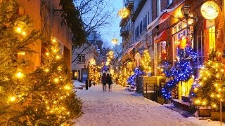 Christmas and the Holiday Season in Québec City
