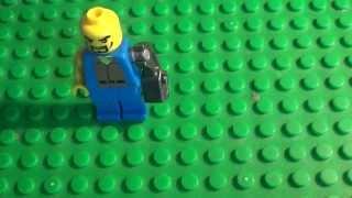 Как сделать человечку из лего руку киборга