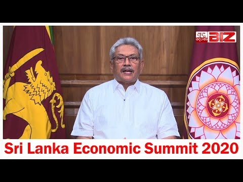 Inaugural speech by His Excellency President Gotabaya Rajapaksa at Sri Lanka Economic Summit 2020