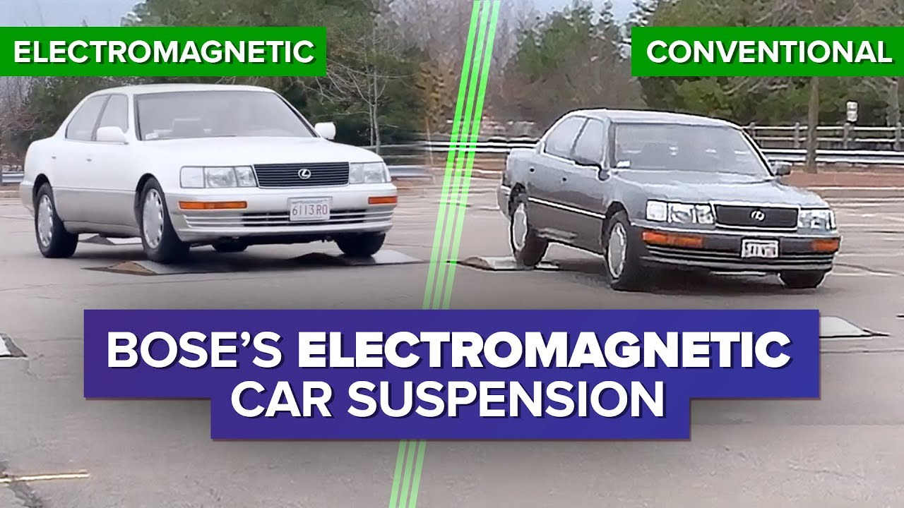 In 1986, Bose Made This Incredible Self-Leveling Car Suspension