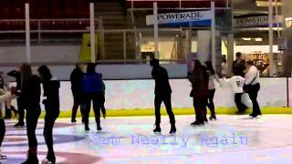 preview picture of video 'Ice-Skating At Deeside Ice Rink'