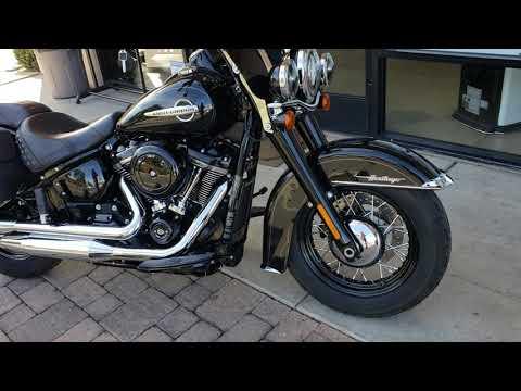2018 Harley-Davidson HERITAGE CLASSIC 107 BLACK EDITION in Temecula, California