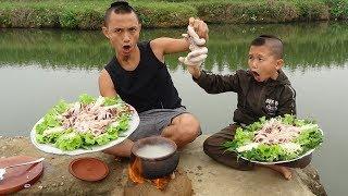 Lẩu Cháo - Thèm Chảy Nước Miếng Với Món Lẩu Cháo Trễ Lợn Của Mao Đệ - Món Ăn Mới Lạ Cực Ngon