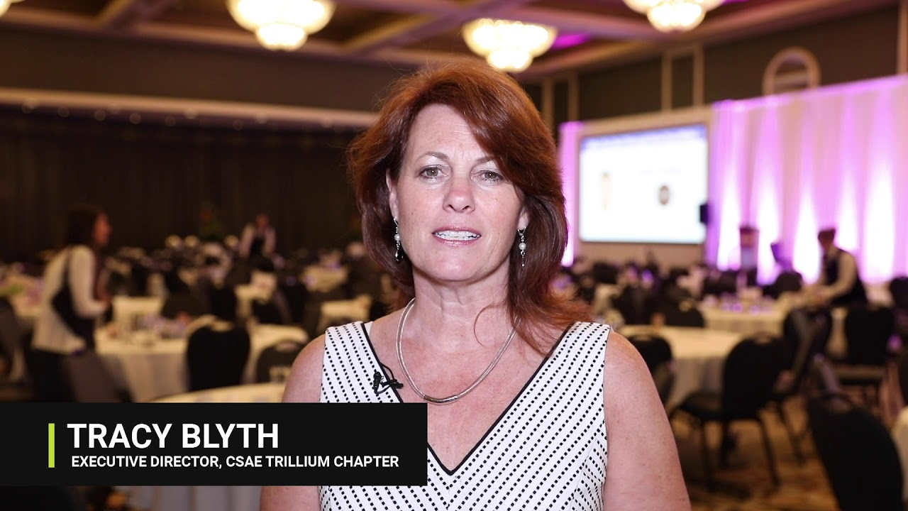 Tracy Blyth, Executive Director, CSAE Trillium Chapter
