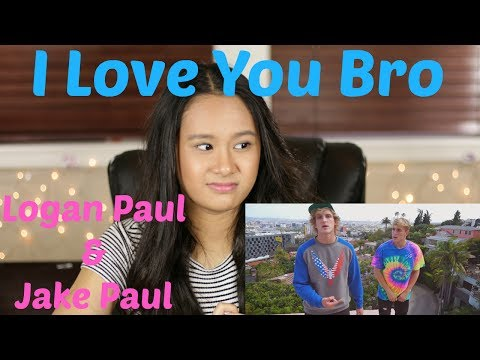 Jake Paul - I Love You Bro (Song) feat. Logan Paul (Official Music Video) REACTION!