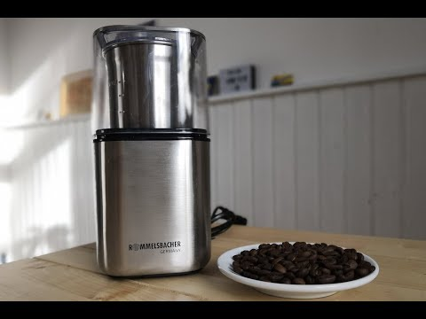 Test Rommelsbacher EGK 200 Kaffeemühle