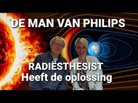 Het neutraliseren van elektromagnetische velden uitvinding radiesthesist van Philips