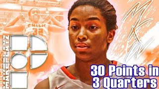 #1 Girl in the Country Megan Walker Drops an Easy 30 in Only 3 Quarters!
