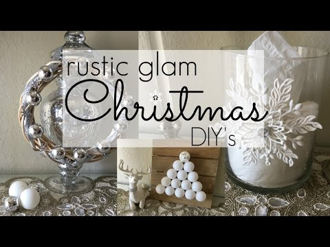 3 Simple & Affordable Christmas Decor DIY's