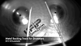 Metal Backing Track For Drummers