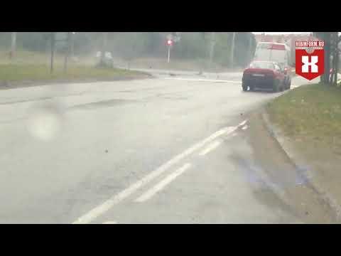 Хотел проскочить на красный и погиб водитель в Апатитах