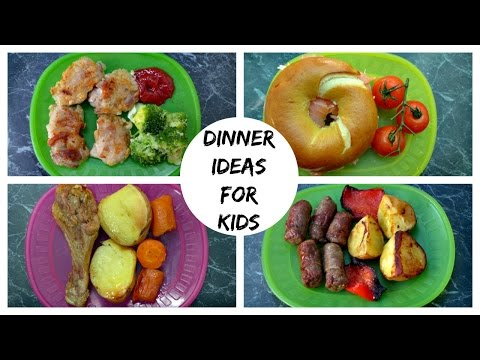 Video A Week Of Dinner Ideas For Kids