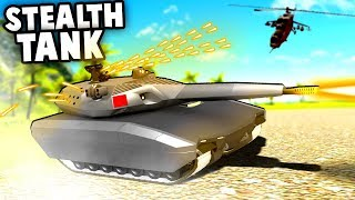 Insane STEALTH TANK! Best Vehicle in Ravenfield EVER! (Ravenfield Best Mods)