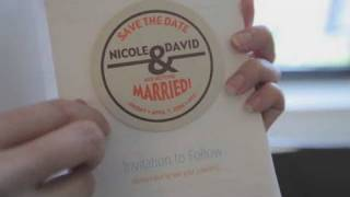 How to Make a Save-the-Date Card | Wedding Invites