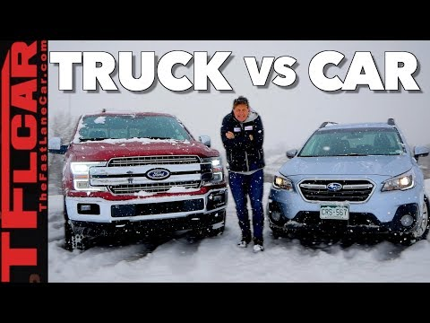 Truck or Car: What's Better in The Snow?