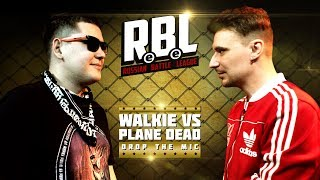 RBL: WALKIE VS PLANE DEAD (DROP THE MIC, RUSSIAN BATTLE LEAGUE)