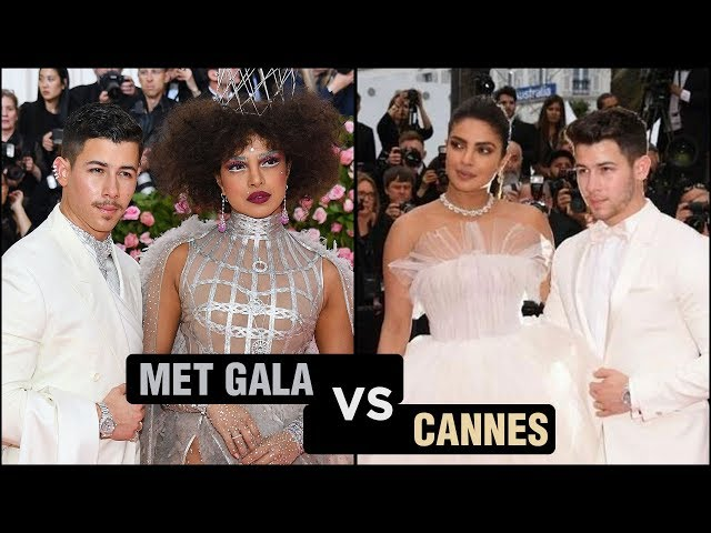 Priyanka Chopra MET GALA Look VS Cannes 2019 Look | Fashion Face Off