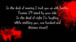 Children of Bodom - Touch Like Angel of Death (Lyrics)
