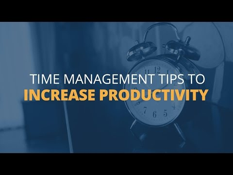 6 Time Management Tips to Increase Productivity