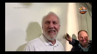 Gregg Popovich says they keep losing to the Warriors because Steve Kerr's son is a Spy ! - Video Youtube
