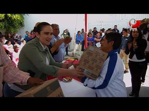 Entregamos apoyos alimentarios a grupos vulnerables