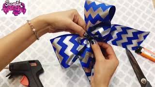 How To Make Cheer Bow EASILY