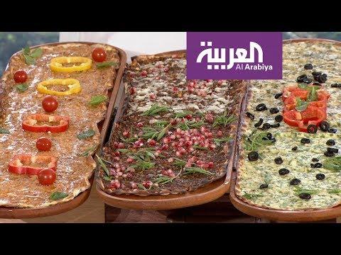 العرب اليوم - شاهد : أشهر أنواع معجنات المناقيش الجديدة ومكوناتها