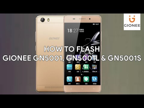 How To Flash Gionee GN5001, GN5001L & GN5001S - [romshillzz]