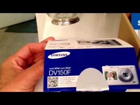 Unboxing of my new Samsung DV150 dual-LCD smart digital camera