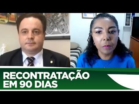 Rodrigo Coelho quer permitir recontratação em menos de 90 dias durante a pandemia - 05/06/20