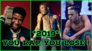 YOU RAP, YOU LOSE 2019 ! Part 8 (NLE Choppa, Juice WRLD, YNW Melly, NBA Youngboy & More )