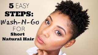 How to make your natural hair kinky curly